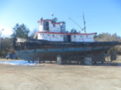 Chickamauga in Drydock