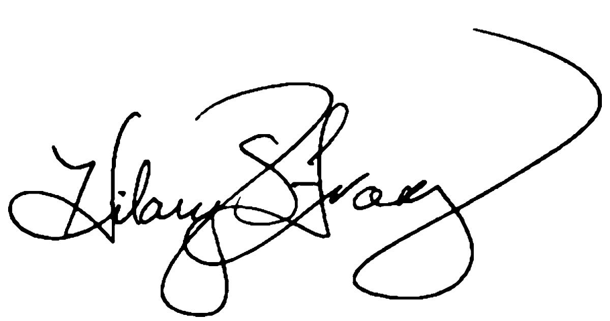 Hilary Franz signature