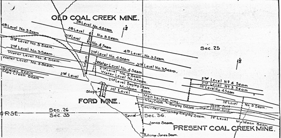 coal mine map collection wa dnr