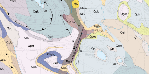 Surface Geology | WA - DNR on