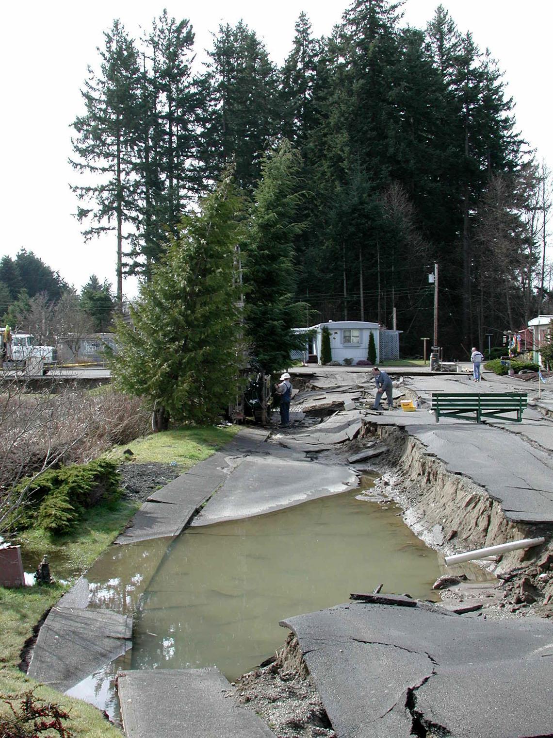 Earthquakes and Faults WA