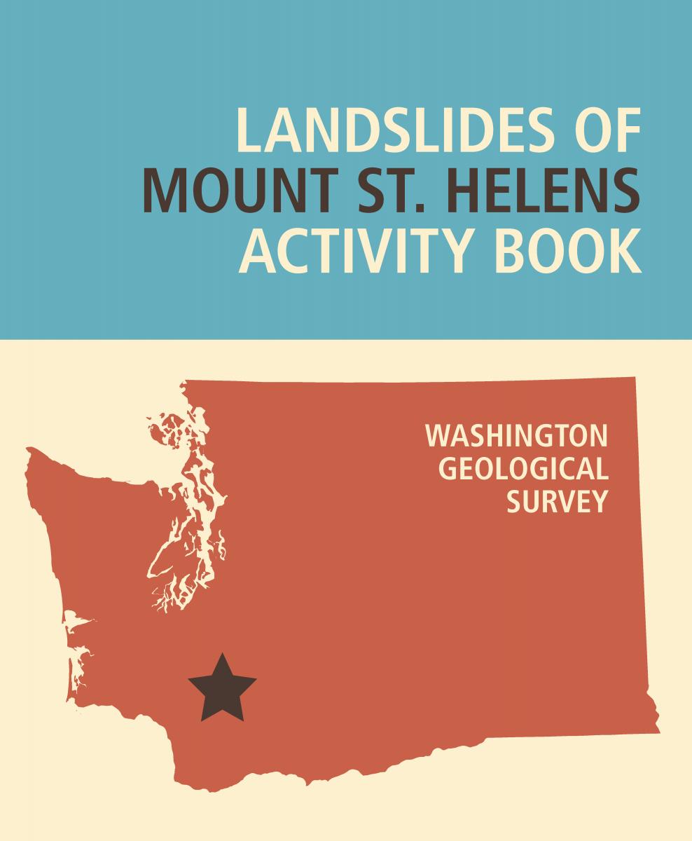 Landslides Of Mount St Helens Activity Book