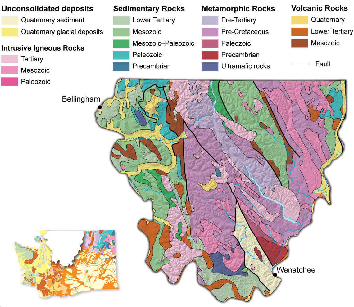 North Cascades  WA  DNR