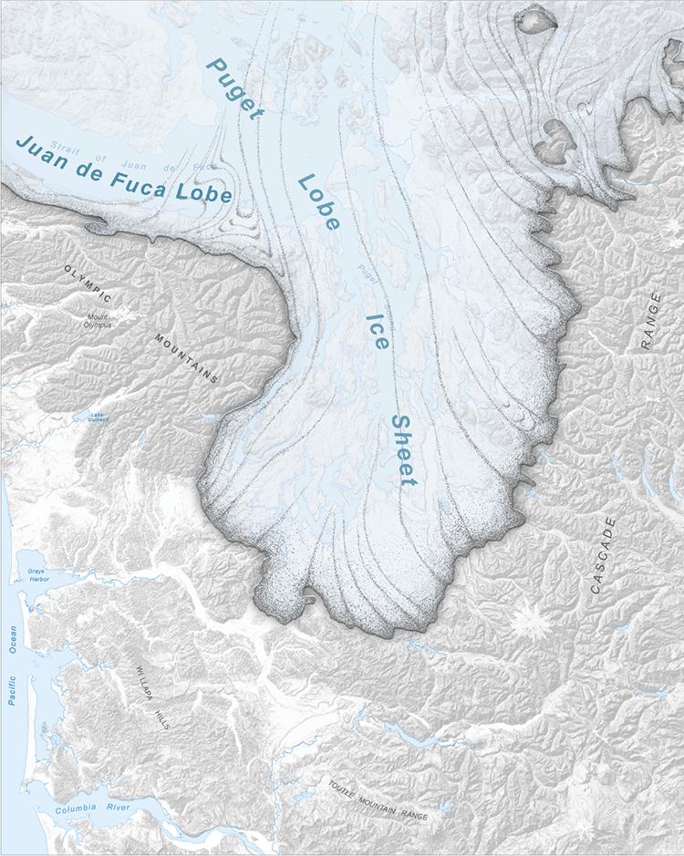 Olympic Mountains WA DNR - Olympics mountain range map of us