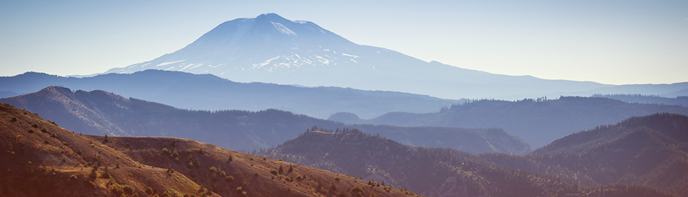 Mount Adams viewed from Mount St. Helens