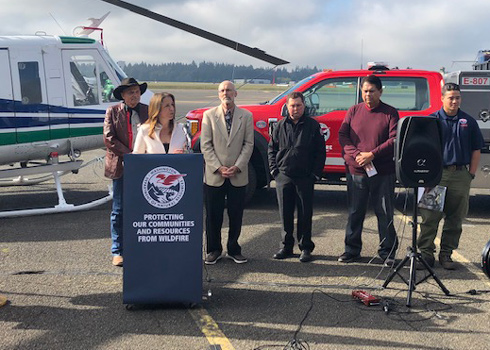 Commissioner Franz Seeks $55 Million To Protect Communities From Wildfire