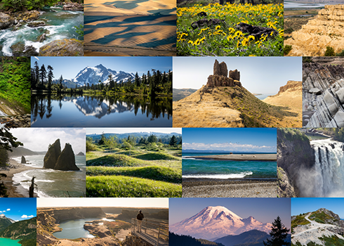 Washington 100 highlights 100 of the state's most distinct geologic formations